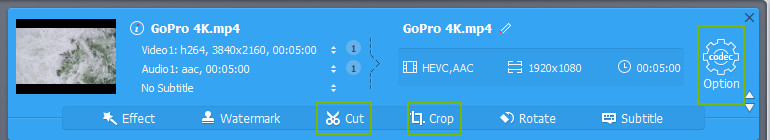 Solved] How to Convert GoPro 4K HEVC to H 264
