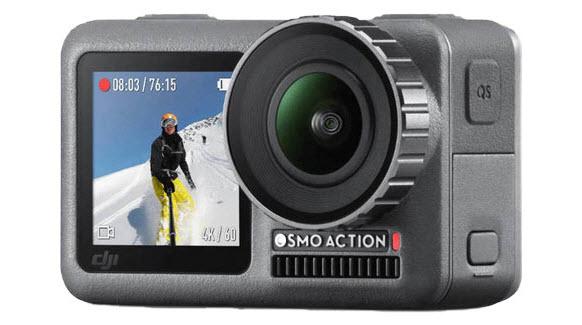 DJI Osmo Action 4K Camera Specs - DJI 4K Video Editing Tips