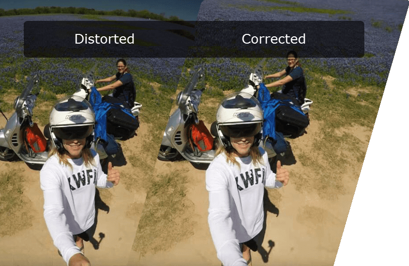 GoPro Fisheye Distortion Correction