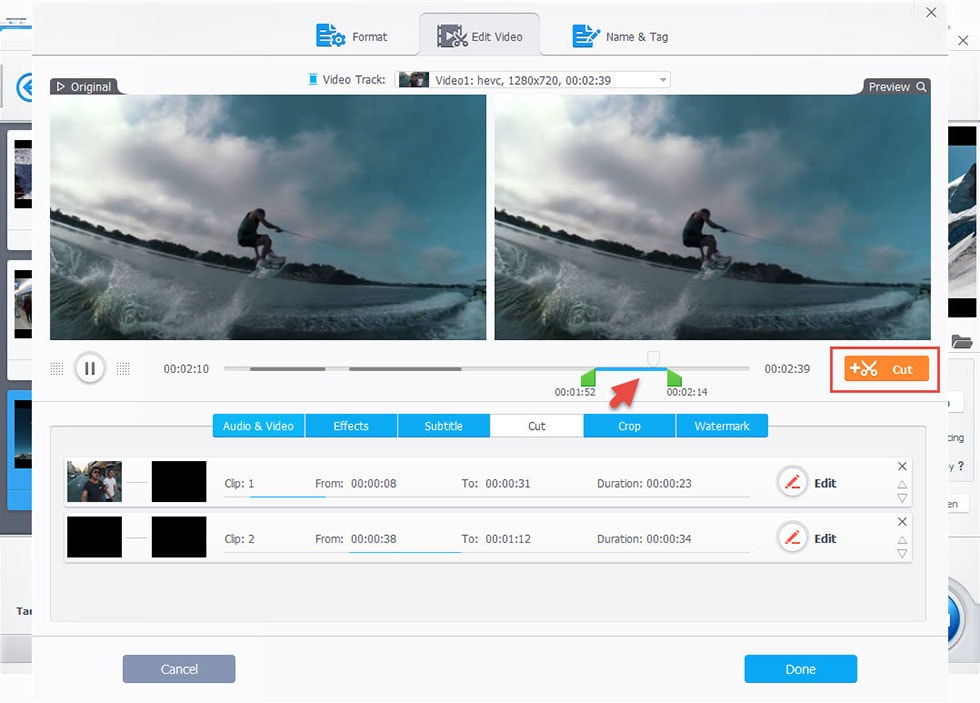 GoPro Qiuk vs VideoProc: Which Is Easier to Cut/Trim GoPro