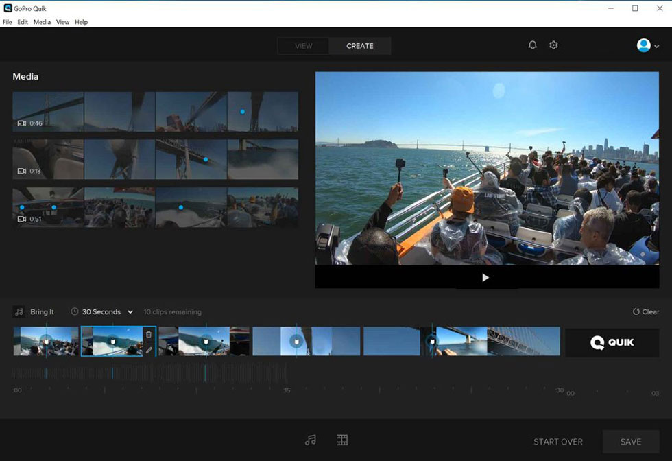 Best GoPro Video Editors for Beginners - Quik for Desktop