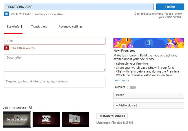 Upload 4K Video to YouTube? Here You Can Find the Steps and