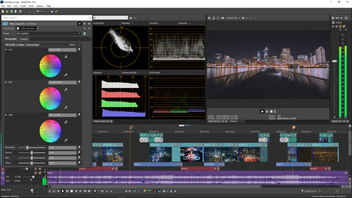 Best Video Editors for Pro - Vegas Pro