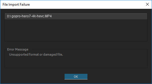 Can't Edit Hero 7 Video in Premiere Pro? Convert 4K HEVC to H 264