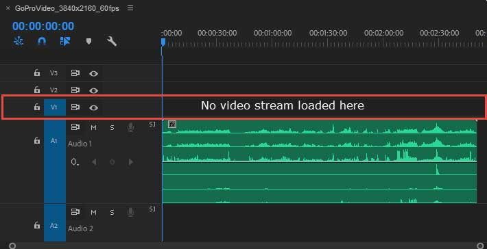 Solved] 4K@60fps Import as Audio Only in Adobe Premiere Pro