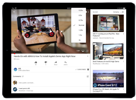 How to Speed up or Slow Down YouTube Videos with More Options